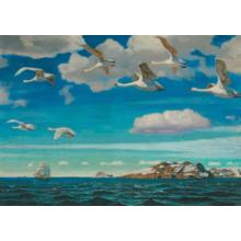 Пазл Stella, 1000 элементов - Рылов А.А.: В голубом просторе