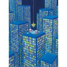 Пазл Clementoni, 500 элементов - Mordillo: Ужин на крыше
