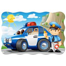 Пазл Castorland, 20 элементов - Полицейский патруль