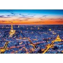 Пазл Clementoni, 1500 элементов - Париж с высоты полета