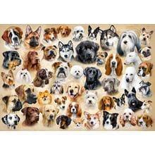 Пазл Castorland, 1500 элементов - Породы собак, коллаж