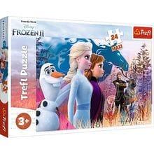 Пазл Trefl, 24 элемента - Волшебное путешествие, Frozen 2