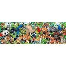 Пазл Clementoni, 1000 элементов - Дикие животные