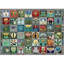 Пазл Cobble Hill, 1000 элементов - Узоры в стиле модерн