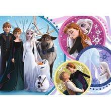 Пазл Trefl, 100 элементов - В сиянии любви, Frozen 2