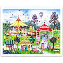 Пазл Pintoo, 2000 элементов - Дж. Скотт: Сладости в парке развлечений