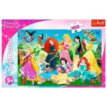 Пазл Trefl, 100 элементов - Очаровательные принцессы