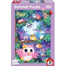 Пазл Schmidt, 200 элементов - Совята на дереве