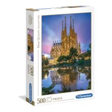 Пазл Clementoni, 500 элементов - Храм Св.Семейства. Барселона