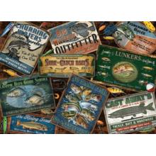 Пазл Cobble Hill, 1000 элементов - Вывески для рыбаков
