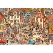 Пазл Heye,1000 элементов - Рыночная площадь