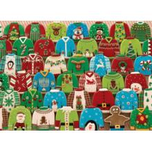 Пазл Cobble Hill, 1000 элементов - Смешные рождественские свитера