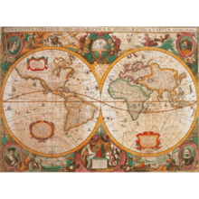 Пазл Clementoni, 1000 элементов - Античная карта