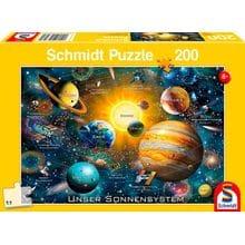 Пазл Schmidt, 200 элементов - Солнечная система