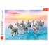Пазл Trefl, 500 элементов - Белые лошади