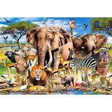 Пазл Castorland, 1500 элементов - Животные саванны