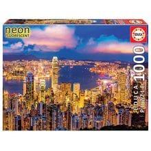 Пазл Educa, 1000 элементов - Гонконг, небоскребы