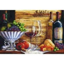 Пазл Trefl, 1500 элементов - Натюрморт с виноградом