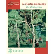 Пазл Pomegranate, 1000 элементов - Э. М. Хеннингс: Встреча