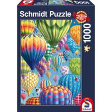 Пазл Schmidt, 1000 элементов - Воздушные шары