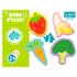 Набор пазлов Trefl, 4в1 (2+3+4+5) элементов - Фрукты и овощи