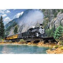 Пазл Trefl, 500 элементов - Поезд в горах