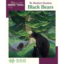 Пазл Pomegranate, 500 элементов - Герберт Дантон: Черные Медведи