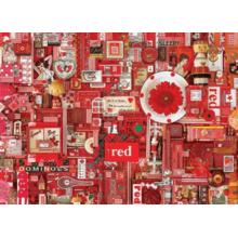Пазл Cobble Hill, 1000 элементов - Цвета радуги. Красный