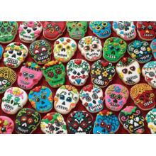 Пазл Cobble Hill, 1000 элементов - Сахарное печенье (черепа)