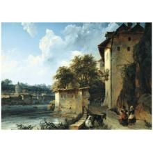 Пазл Stella, 2000 элементов - Лебедев М.И.: Вид окрестностей Альбано близ Рима