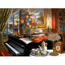Пазл Castorland, 2000 элементов - Рояль. Живопись