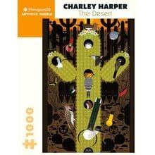 Пазл Pomegranate, 1000 элементов - Чарли Харпер: Пустыня 1