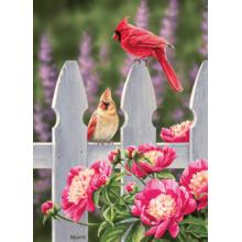 Пазл Cobble Hill, 1000 элементов - Птицы и пионы