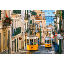 Пазл Castorland 1000 элементов - Лиссабонские трамваи. Португалия