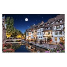 Пазл Pintoo, 1000 элементов - Ночной Кольмар, Франция