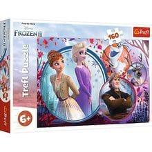 Пазл Trefl, 160 элементов - Сестра-путешественница, Frozen2