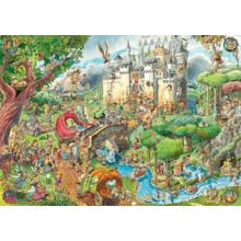 Пазл Heye, 1500 элементов - Сказки, Prades