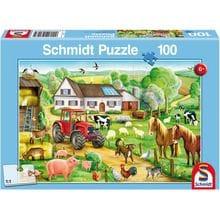 Пазл Schmidt, 100 элементов - Большая ферма
