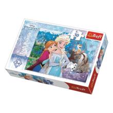 Пазл Trefl, 30 элементов - Высвободи магию, Frozen