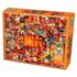 Пазл Cobble Hill, 1000 элементов - Коллаж стихий - Огонь