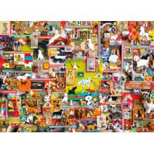 Пазл Cobble Hill, 1000 элементов - Коллаж - все о собаках