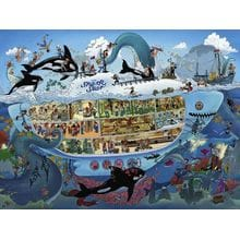 Пазл Heye, 1500 элементов - Развлечения на подводной лодке