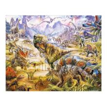 Пазл Pintoo, 500 элементов - P. Krasny: Динозавры