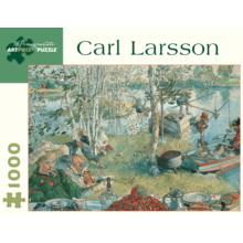 Пазл Pomegranate, 1000 элементов - Карл Ларссон: Пикник с рыбалкой