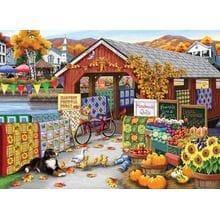 Пазл Cobble Hill, 500 элементов - Nancy Wernersbach: Праздник урожая