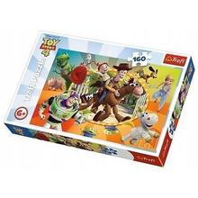 Пазл Trefl, 160 элементов - В мире игрушек, Toy Story