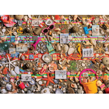 Пазл Cobble Hill, 1000 элементов - Пляжные ракушки