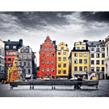 Пазл Pintoo, 500 элементов - Улицы Стокгольма