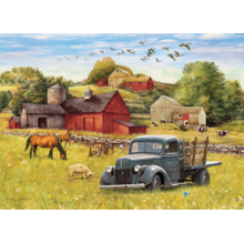 Пазл Cobble Hill, 1000 элементов - Летний полдень на ферме