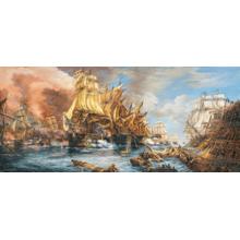 Пазл Castorland, 600 элементов - Битва на море